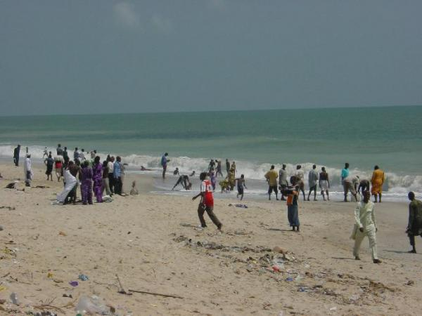 catholic priest dies lagos beach