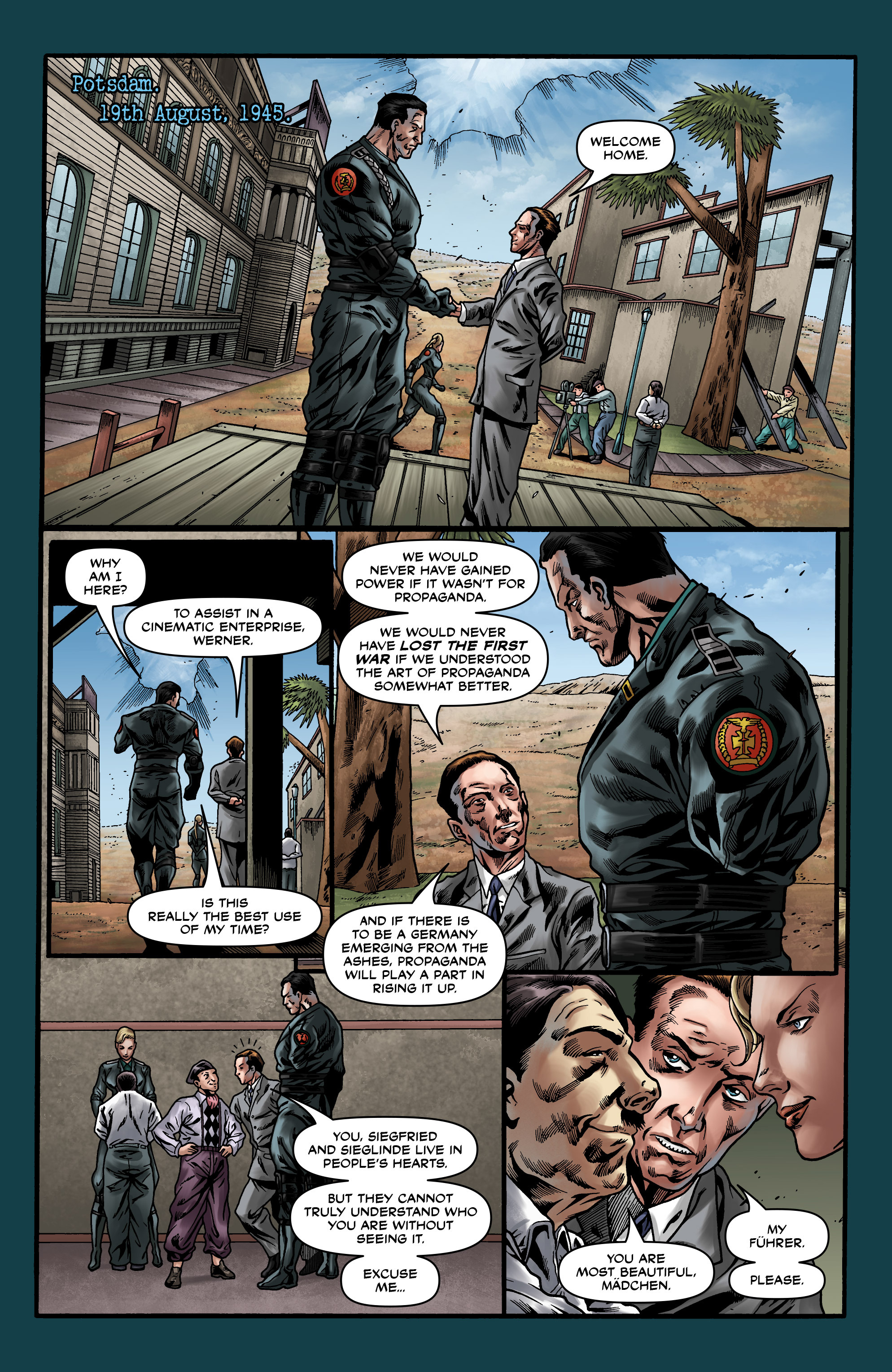 Read online Uber comic -  Issue #20 - 12