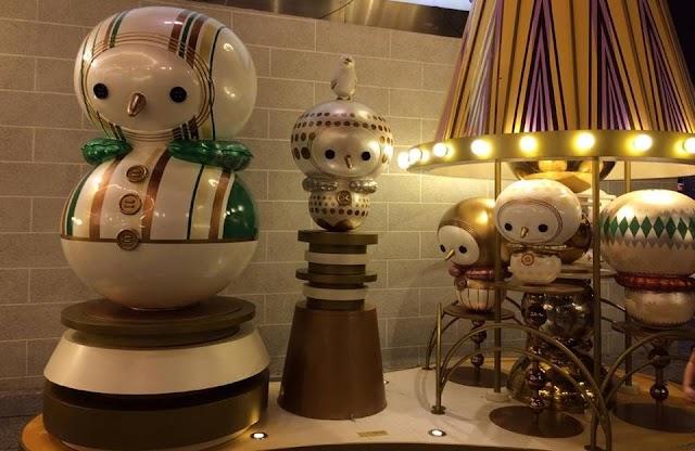 【聖誕燈飾】百隻小雪翁齊聚海港城 金光燦爛聖誕派對