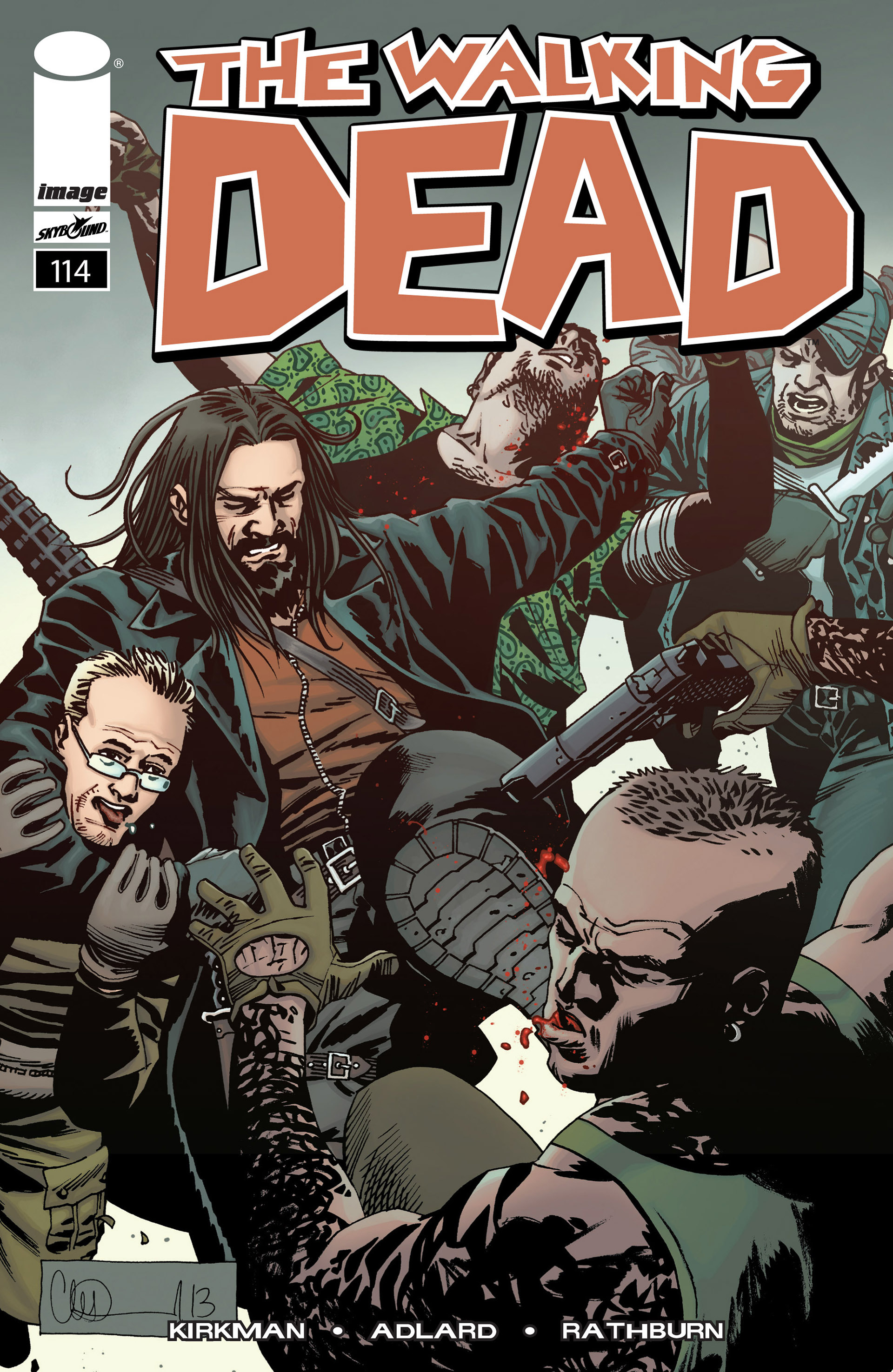 The Walking Dead 114 Page 1