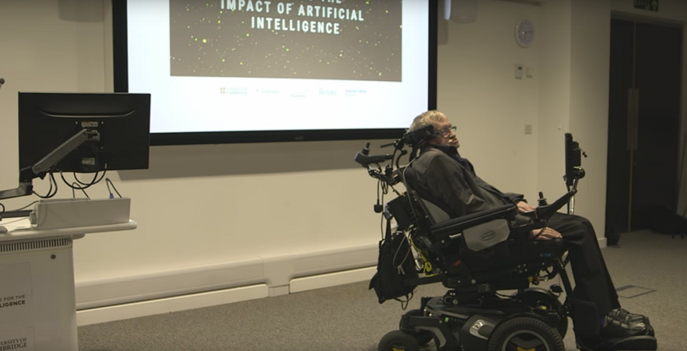 Stephen Hawking Says Artificial Intelligence Will be The Best or Worst Thing to Happen to Humanity