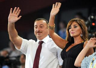 Azerbaijani President Ilham Aliyev Palm Image