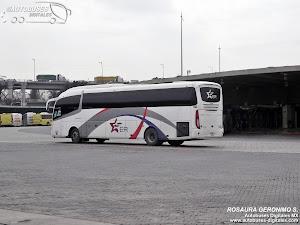 Autobuses Mexico-Puebla Estrella Roja. Irizar i6