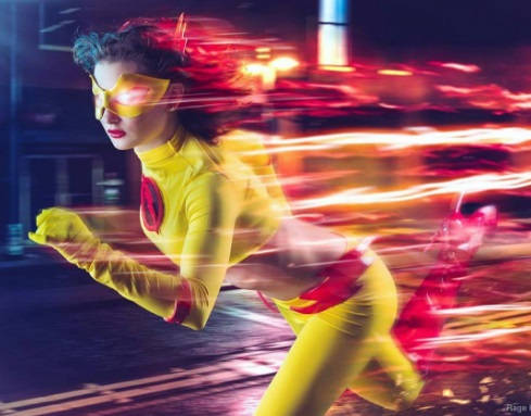 11 The Flash Cosplays That You'll Love! ragekittenn instagram reverse flash dc comics