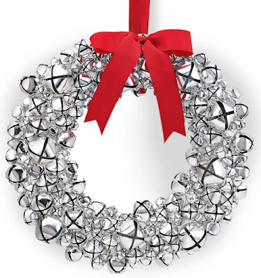 Jingle Bell Wreath from Williams-Sonoma