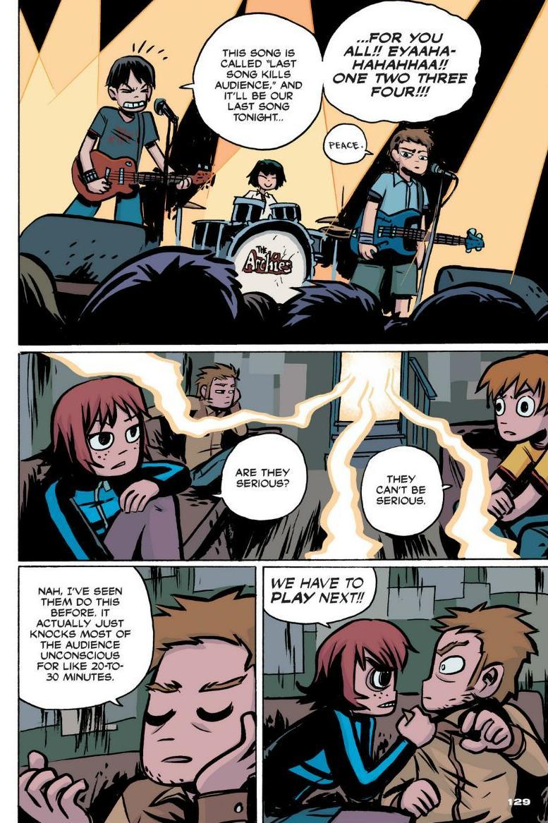 Read online Scott Pilgrim comic -  Issue #1 - 118