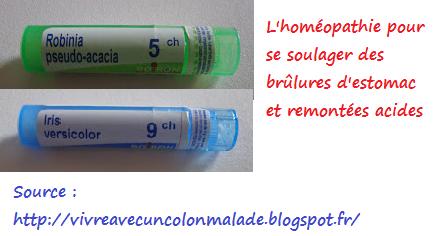 reflux gastrique remede homeopathique