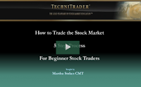 Beginners learn to trade the stock market webinar - TechniTrader
