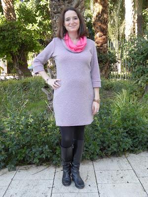 renfrew dress pregnant vestido embarazada sewaholic modistilla de pacotilla