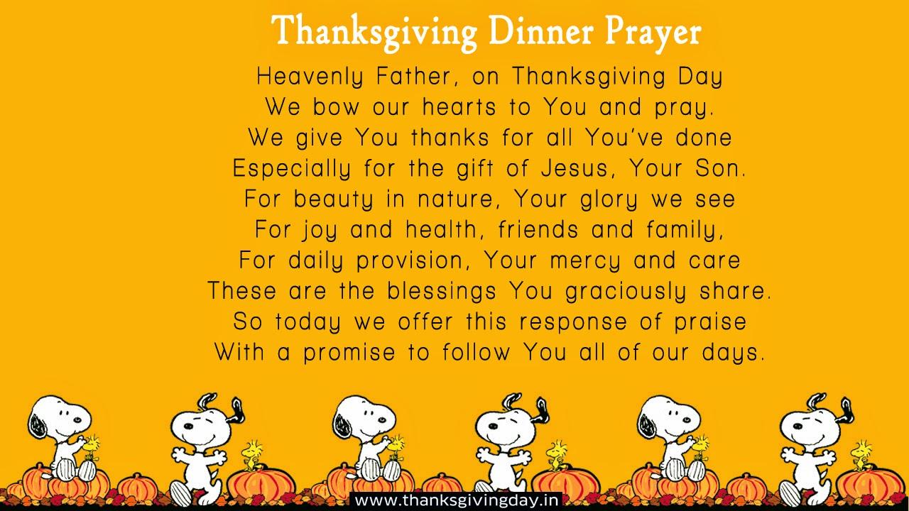 Humorous Prayer Before Meals - 0425