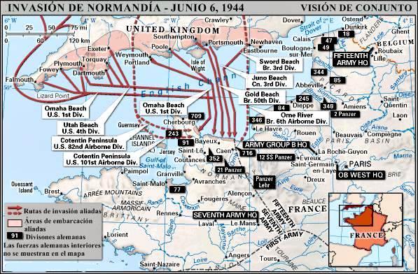 Invasión de Normandía