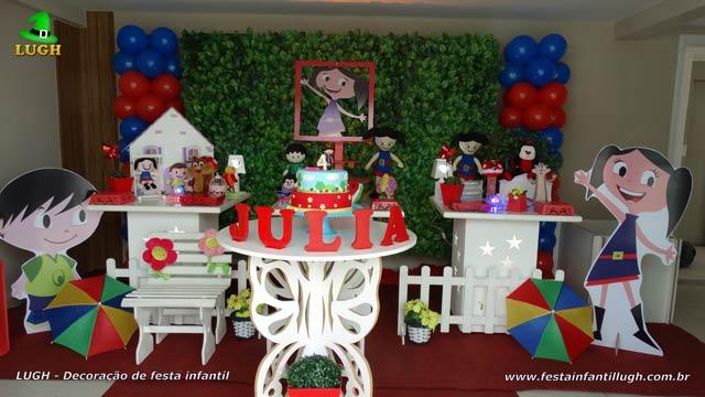 Decoração de festa Show da Luna - Aniversário infantil