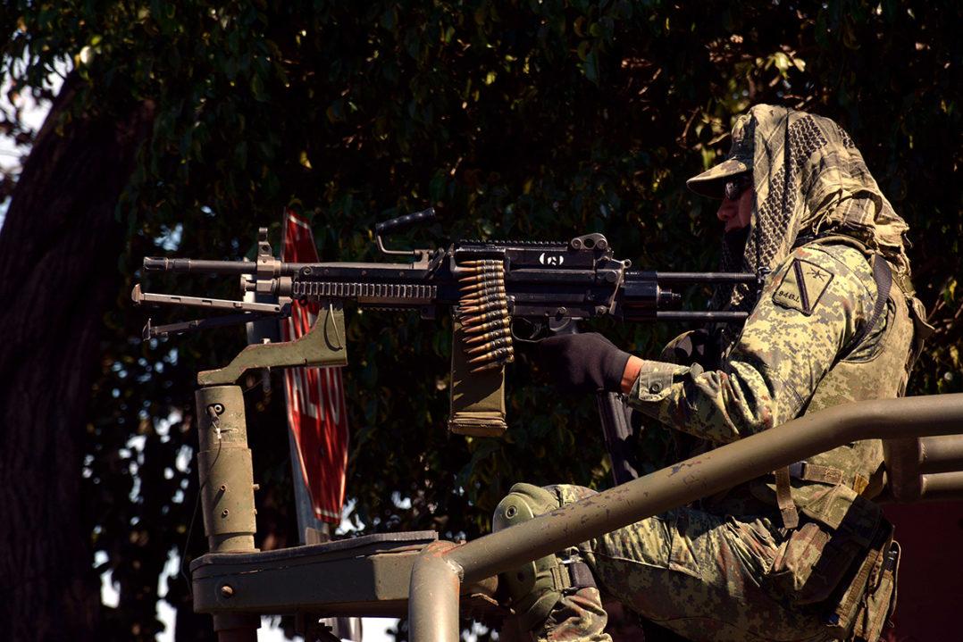 """""""Comandos de la muerte"""" formados por Militares y Paramilitares operan en la ciudad de Culiacán"""
