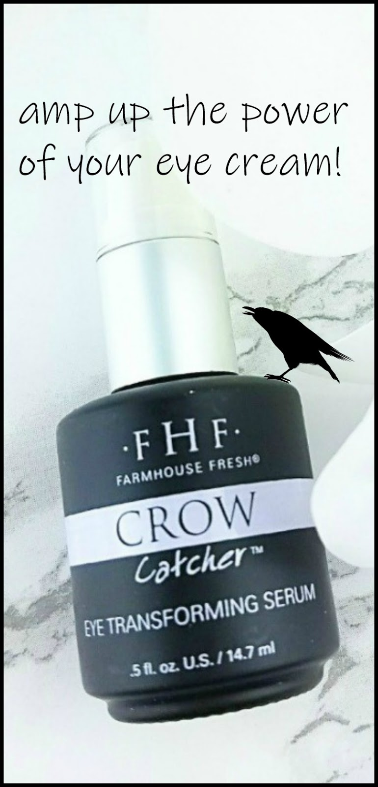 Amp Up The Power of Your Eye Cream with Farmhouse Fresh Crow Catcher Eye Transforming Serum