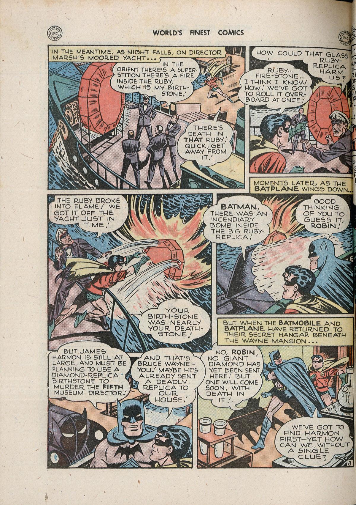 Read online World's Finest Comics comic -  Issue #33 - 68