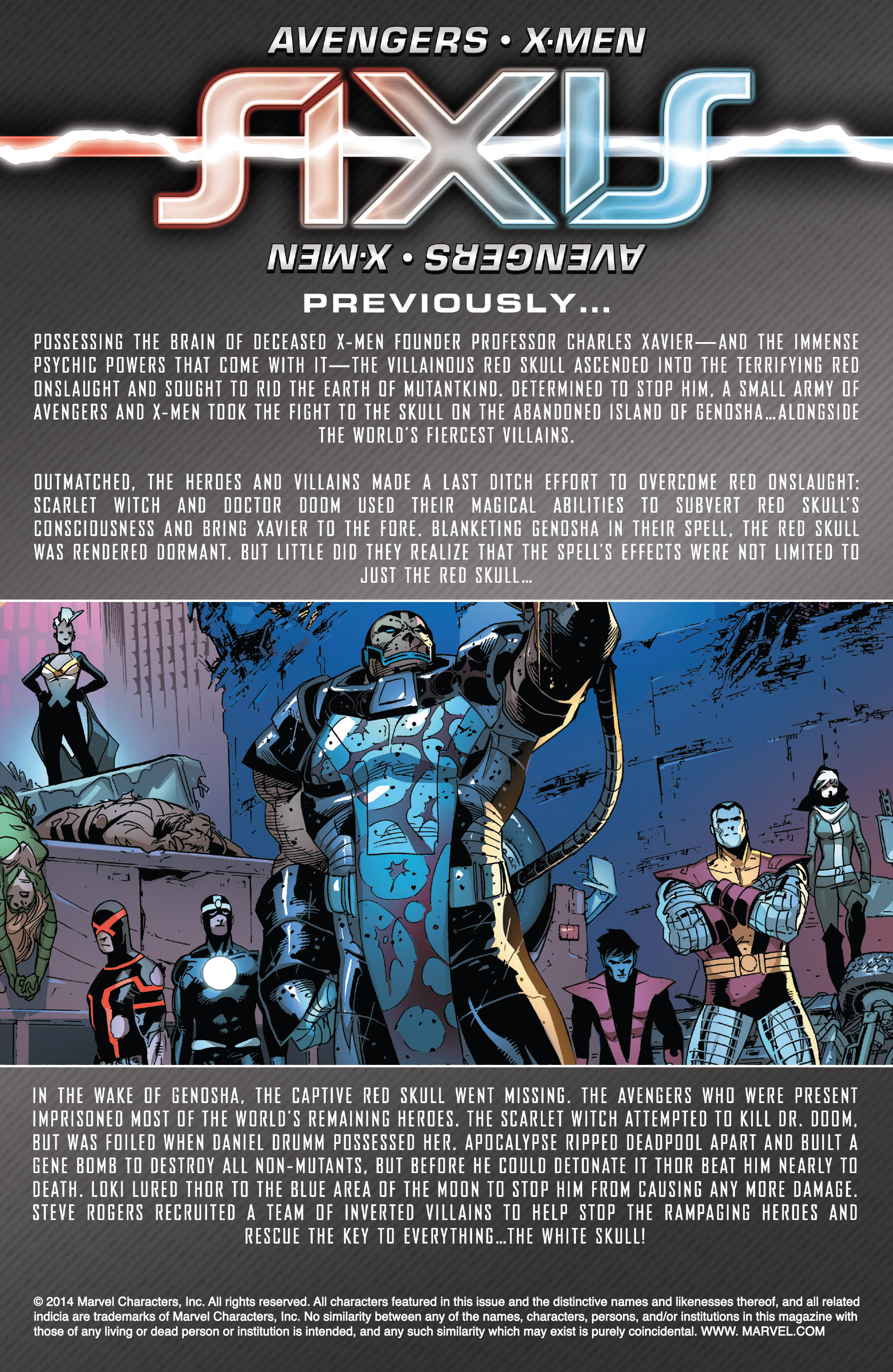 Read online Avengers & X-Men: AXIS comic -  Issue #9 - 2
