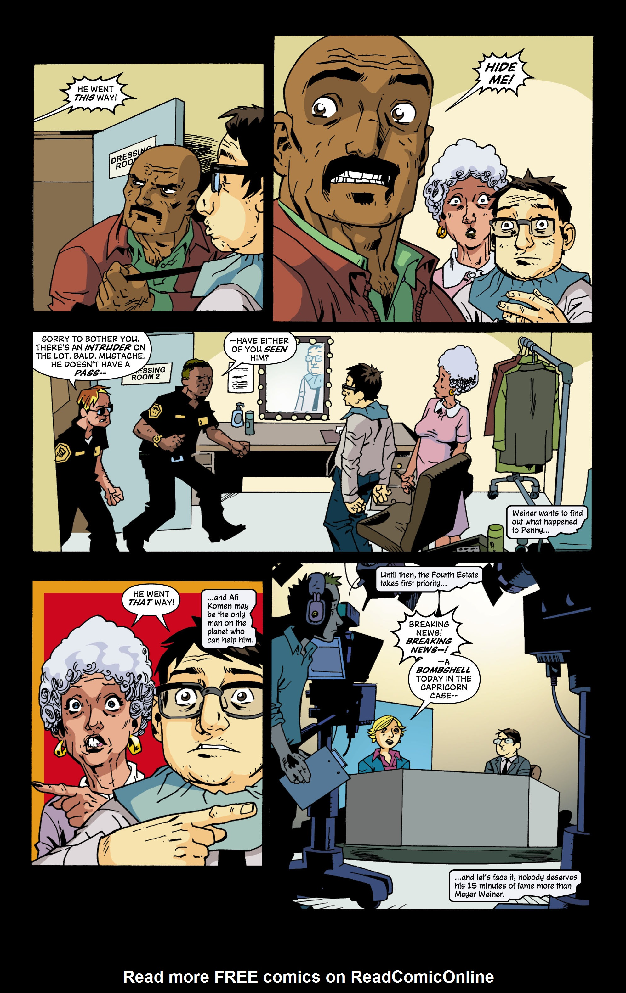 Read online Red Herring comic -  Issue #6 - 18