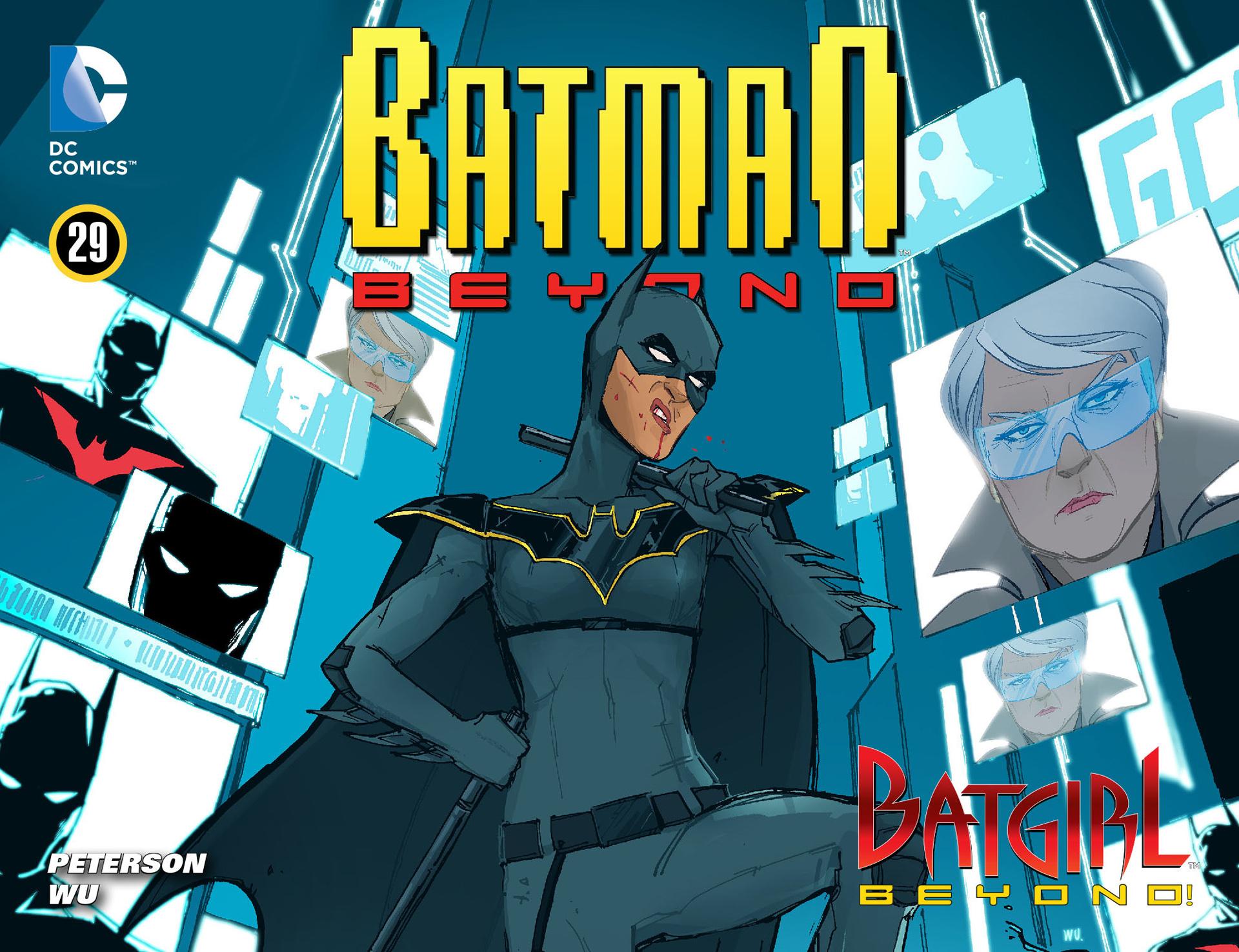 Batman Beyond (2012) 29 Page 0
