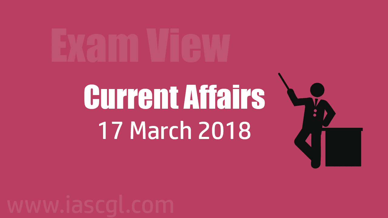 Current Affair 17 march 2018