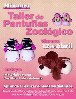 Curso Pantuflas Cholas Slippers