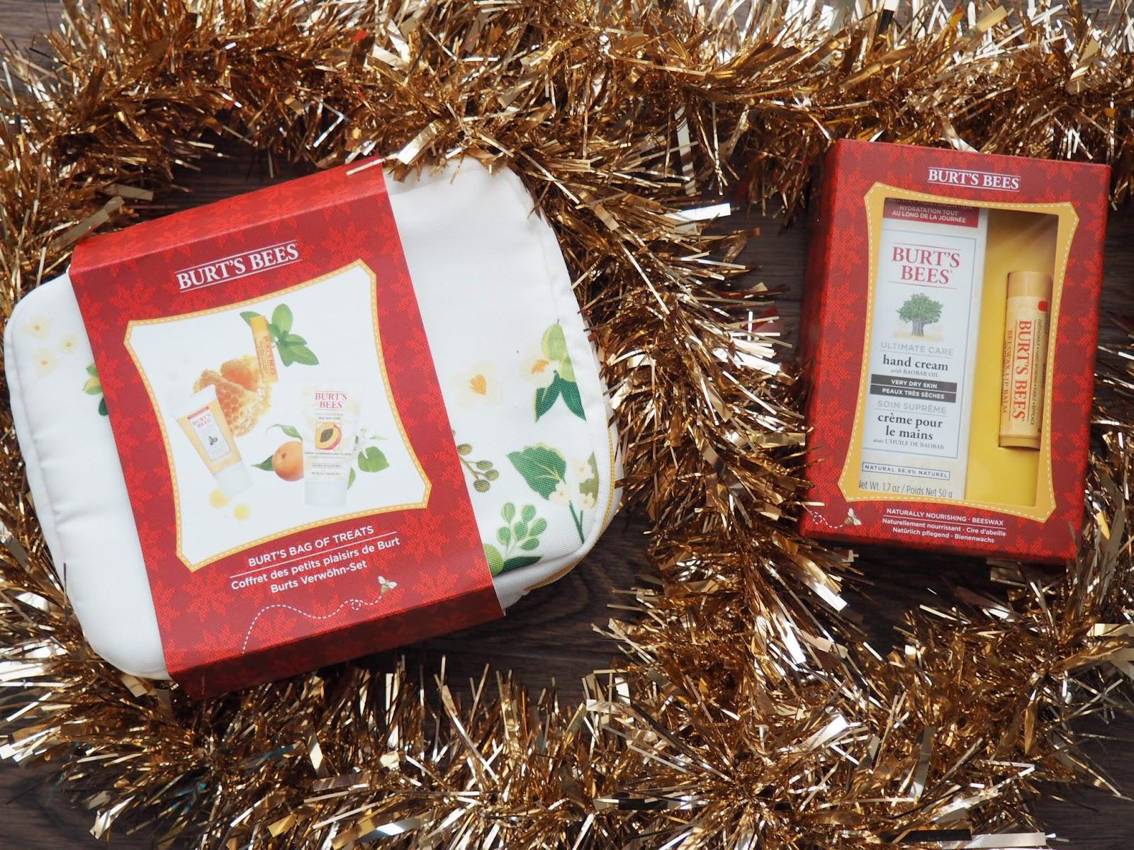 Burts Bees Christmas gifts 2016