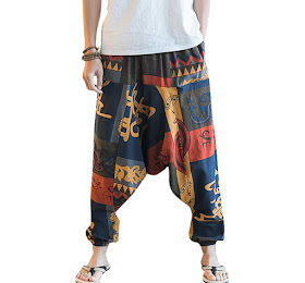 Mens Casual Baggy 100% Cotton Harem Pants <price>Rp401.000</price> <code>SKU-0002</code>