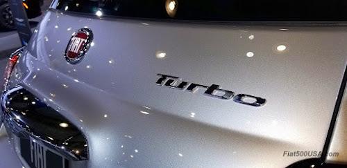 2018 Fiat 500 Turbo emblem