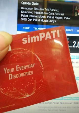Besarnya Bonus Kuota di Setiap Pembelian Paket Internet SimPATI
