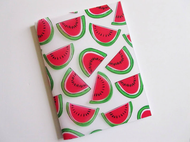 paperchase watermelon notebook