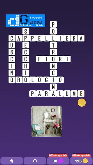 Soluzioni One Clue Crossword livello 20 schemi 10 (Cruciverba illustrato)  | Parole e foto