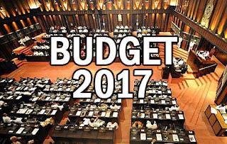 Sri Lanka budget 2017