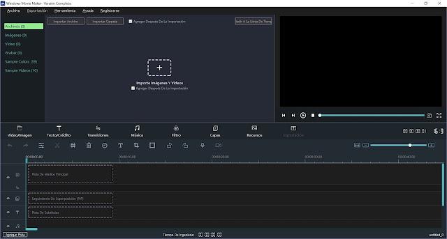 Windows Movie Maker 2020 Full