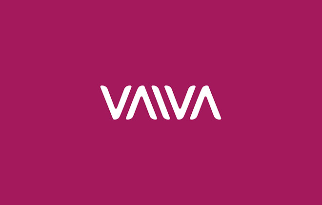 Pengertian Ambirgam, Inspirasi Desain Logo Ambigram - Vaiva Cosmeics Logo Branding