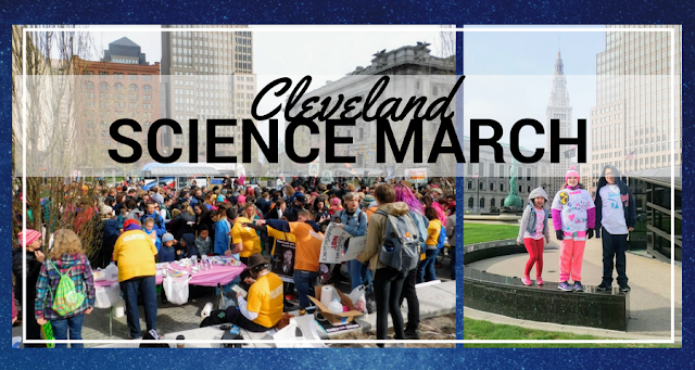 Cleveland Science March - Science Matters {Photos}