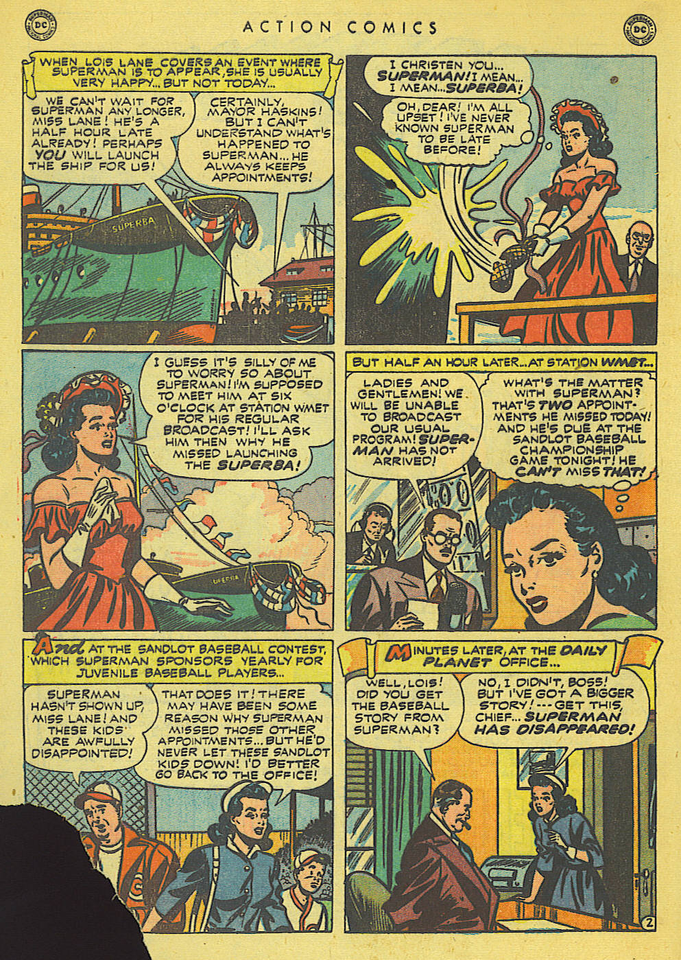 Read online Action Comics (1938) comic -  Issue #140 - 4