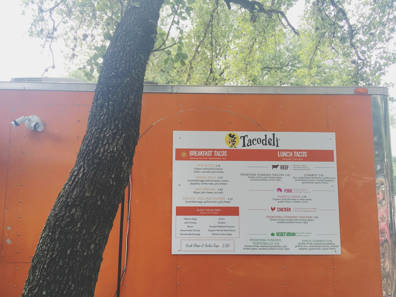 Tacodeli - a taco truck and restaurant located in Austin, Texas