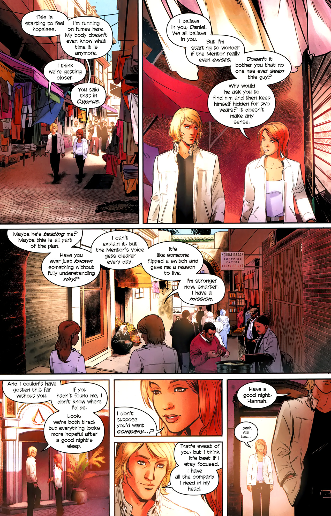 Read online Assassin's Creed: The Fall comic -  Issue #3 - 5