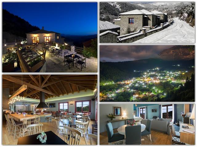 Άρτα: ΤΖΟΥΜΕΡΚΑ - Το Rouista Tzoumerka Resort γίνεται ενός έτους και το γιορτάζει !