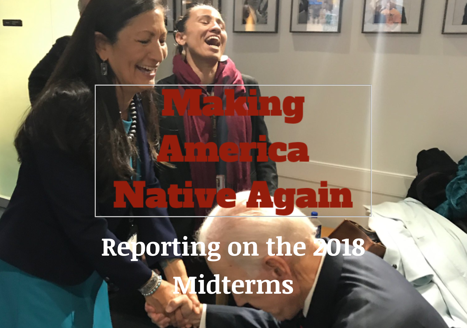 My First Newsletter 'Make America Native Again' or Happy MANA!