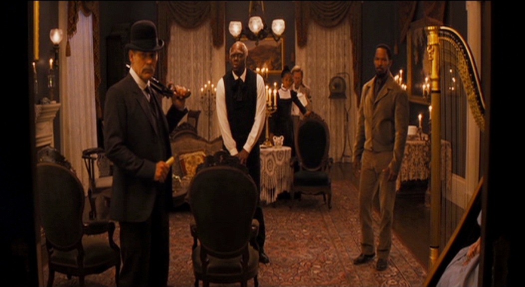 a movie analysis of django unchained directed by quentin tarantino The writing examines how the process of maintaining the ideology of white supremacy and how django's character is constructed as a subject in planting white ideology in the movie django unchained (2012) based on the analysis of django's relationship with other characters.