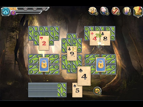 Mystic Journey Tri Peaks Solitaire from Five-BN for PC and Mac