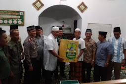 Tim XVI Safari Ramadhan Anjangsana Pererat Silaturahmi.