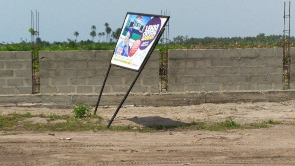 PLOTS OF LAND FOR SALE @ LEKKI ROYAL GARDEN