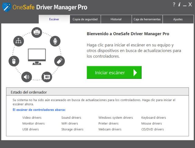 OneSafe Driver Manager Pro Descargar