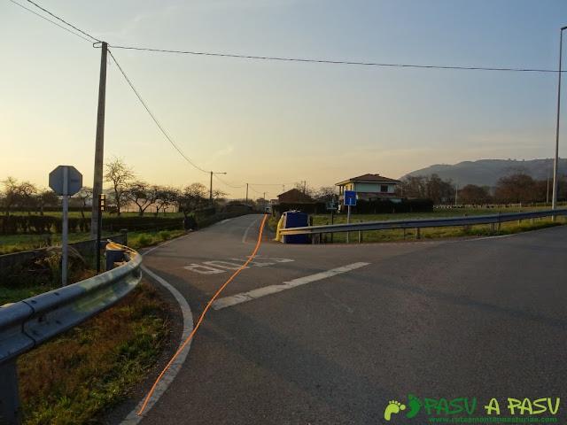Por el camino de Santiago hacia Sariego
