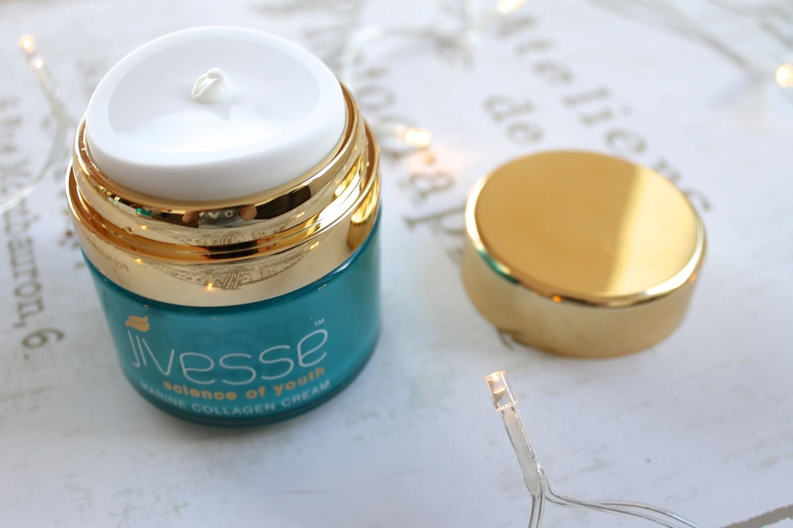 Jivesse marine collagen cream blog review