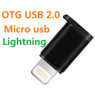CONVERTITORE OTG ADATTORE MICRO USB LIGHTNING 8 PIN ON TENCK