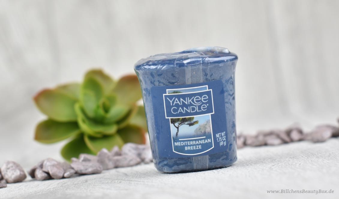 Yankee Candle - Mediterranean Breeze - Review & Duftbeschreibung