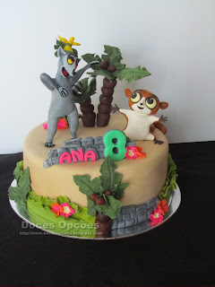 bolo aniversário Viva o Rei Juliano