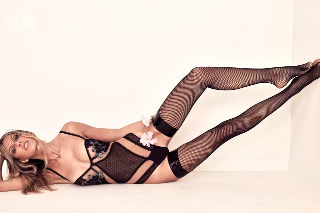 For Love and Lemons Skivvies Fall/Winter Latest Lookbook featuring KateKing